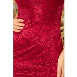 NUMOCO Ženska haljina 234 crna | crvena  Cene