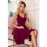 NUMOCO Ženska haljina bez rukava 307 tamnocrvena  Cene