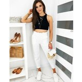 DStreet Ženske hlače Mom Fit LEO bijele UY0511 crne | bela  Cene