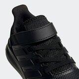 Adidas Run Falcon Shoes Kids crna   siva