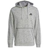 Adidas Essentials M¿lange Embroidered Small Logo Hoodie M  Cene