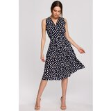 Stylove Woman's Dress S264 crna | siva  Cene