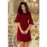 NUMOCO Woman's Dress 217-3 Crimson crna   tamnocrvena  Cene