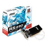 MSI AMD Radeon R5 230 2GB 64bit R5 230 2GD3H LP grafička kartica cene