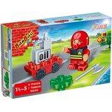 Banbao igračka vatrogasna brigada, vatrogasac-bolničar 9636  Cene