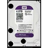 Western Digital 4TB Purple SATA3, 64MB, WD40PURX hard disk Cene