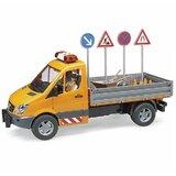 Bruder kamion + set saobraćajnih znakova  Cene