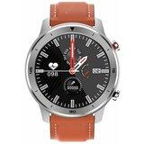 Moye DT78 Orange Leather Strap - Silver smart sat  Cene