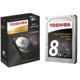 Toshiba SATA3 8TB HDETV11ZPA51 7200rpm 256MB Cache hard disk  Cene