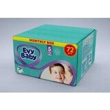 Evy Baby monthly box pelene 5 12-25KG 80 komada  Cene