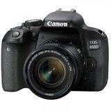 Canon EOS 800D 18-55 f/4-5.6 IS STM objektiv + DSLR digitalni fotoaparat Cene