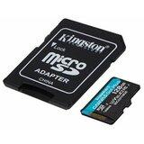 Kingston U3 V30 microSDXC 128GB Canv as Go Plus 170R A2 + adapter SDCG3/128GB memorijska kartica Cene