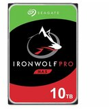 Seagate 10TB IronWolf Pro ST10000NE0008 NAS 3.5 inch SATA 6Gb/s 256MB 7200rpm hard disk Cene