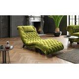 Emmezeta Earl fotelja zelena (73x163x75 cm)  cene