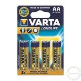 Varta Longlife alkalna LR6 bli4 baterija za digitalni fotoaparat Cene