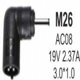 Gembird NPC SA03 M26 65W 19V 2.37A, 3.0x1.1mm AC08 konektor za punjač  cene