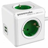 Allocacoc Powercube Extended Šuko sa 4 utičnica i 2 USB 1.5m 1402GN/DEEUPC  Cene