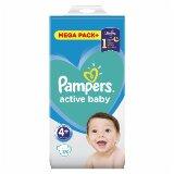 Pampers active baby pelene 4+ 120 komada  Cene