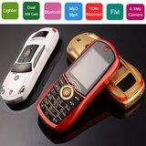4. porše mini dual sim – mobilni telefon i upaljač novo  Cene