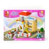 Sluban kocke Slatka kuća, 381 kom A016150  Cene