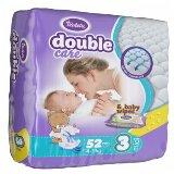 Violeta double care 3 midi 4-9kg baby pelene 52 komada  Cene