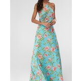 Trendyol Ženska haljina Floral Patterned svetloplava   kaki   krem  Cene