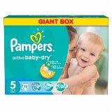 Pampers active baby-dry pelene 5 junior 78 komada  Cene