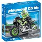 Playmobil motociklista (58005)  Cene