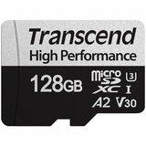 Transcend 128GB microSD w/adapter UHS-I U3 A2, Read/Write 100/85 MB/s TS128GUSD330S memorijska kartica Cene