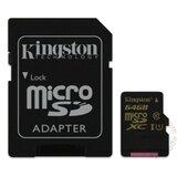 Kingston MicroSDHC/SDXC 64GB SDCA10/64GB memorijska kartica Cene