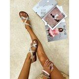 Hop Hop 16797 - kožne sandale nyia - bež  cene
