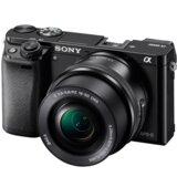 Sony Alpha A6000 + 16–50mm, black digitalni fotoaparat  Cene