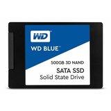 Western Digital Blue 500GB SSD, SATA 3, 560/530MB/s (WDS500G2B0A) ssd hard disk Cene