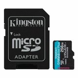 Kingston U3 V30 microSDXC 256GB Canvas Go Plus 170R A2 + adapter SDCG3/256GB memorijska kartica Cene