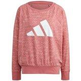 Adidas ženska majica dug rukav za fitnes W WIN CREW pink GQ6068  Cene