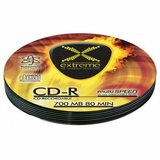 Extreme cd-r2033 - prazni mediji soft pack 10 kom  cene