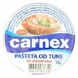 Carnex pašteta od tune 75g folija  Cene