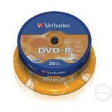 Verbatim DVD-R 4.7GB 16X 43522 disk Cene