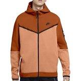 Nike muški duks M NSW TCH FLC HOODIE FZ WR CU4489-893