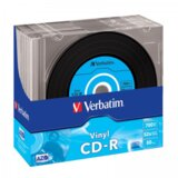 Verbatim CD-R 52X VINYL 1/10  Cene