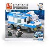 Sluban kocke Policijsko komandno vozilo, 253 kom A016003  Cene