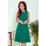 NUMOCO Ženska haljina 308 zelena   tamnocrvena  Cene
