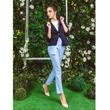 AMC ženske pantalone 060R plave  Cene