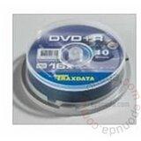 Traxdata DVD+R, Kapacitet 4,7 GB, Brzina 16x, 10 kom cake disk cene