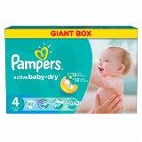 Pampers active baby-dry pelene 4 maxi 90 komada  Cene