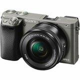 Sony ILCE6000LH.CEC MILC fotoaparat grafitno sivi+objektiv 16-50mm f/3.5-5.6