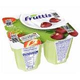 Campina Fruttis voćni jogurt jagoda, trešnja 0,2% MM 4x125g čaša  cene