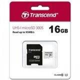 Transcend micro sd 16 gb, class 10 U1, read up to 95MB/s with adapter memorijska kartica  Cene