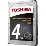 Toshiba 4TB HDWE140UZSVA, X300 series, 128MB, 7200 rpm, SATA 3 hard disk Cene