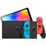 Nintendo konzola switch oled model neon red and blue  Cene